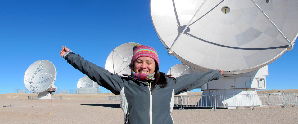 Winner student of the short film contest visits ALMA Observatory