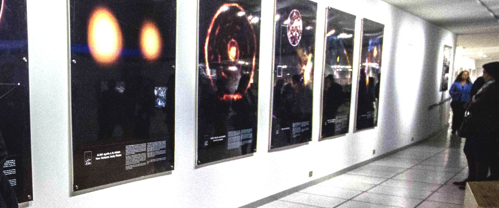 Guided tours with astronomers during last weekend of the ALMA exhibit