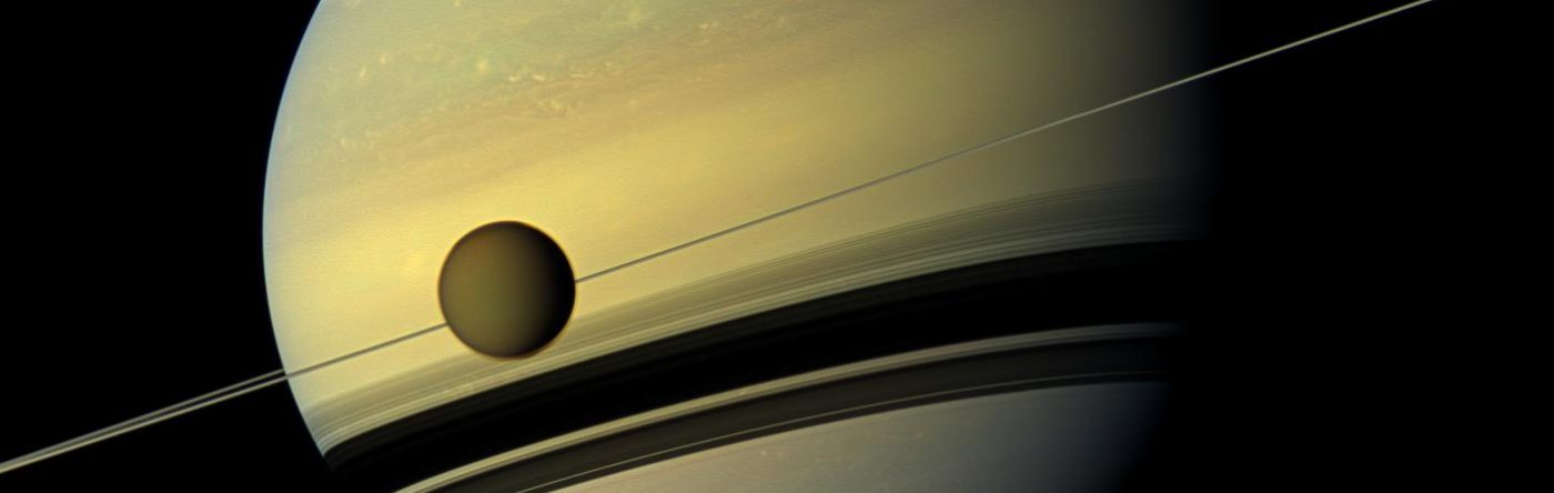 ALMA sniffs out atmosphere of Saturn's moon Titan