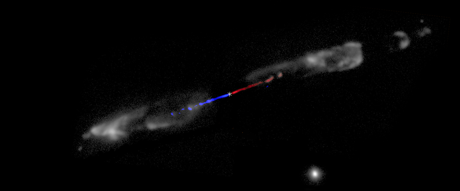 Baby star grows thanks to magnetic fields in jets