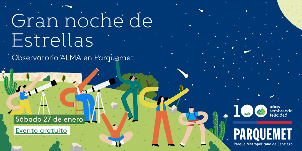 ALMA and Parquemet extend an invitation to a new Great Night of Stars