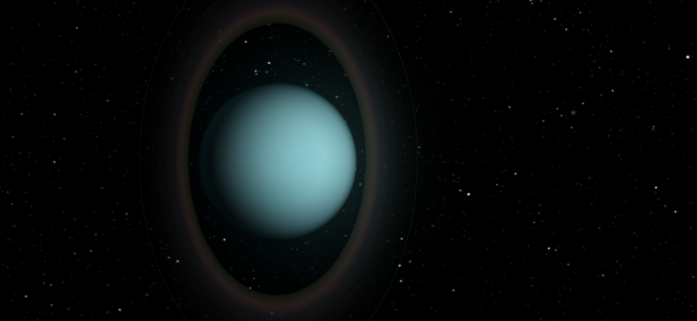 'Night vision' helps to take the temperature of the rings of Uranus
